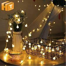 Tatil aydınlatma sıcak beyaz peri Garland LED topu dize işıklar/USB/pil  kutusu yılbaşı ağacı açık dekoratif ışıklar fairy light lamps led ball  string lightfairy lights - AliExpress