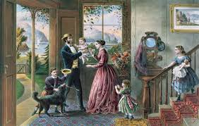 the four seasons of life middle age painting currier and ives the four seasons of