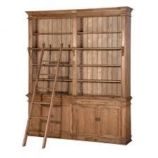 library unit furniture. Antique Oak Living Room Furniture Library Unit With Ladder U