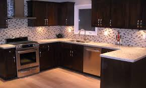 kitchen backsplash ideas dark cabinets pictures modern upscale oven together with design mosaic tile glass tiles
