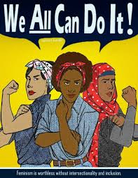 Image: Woman can do it poster.