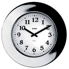 ... Large-size of Radiant Alessi Momento Round Wall Clock Alessi Momento  Decorative Wall Stainless in ...