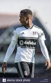 LONDON, ENGLAND - APRIL 13: Ryan Sessegnon of Fulham FC during the Premier  League match between Fulham FC and Everton FC at Craven Cottage on April  13, 2019 in London, United Kingdom. (