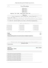 Job Resume Open Office Resume Template Microsoft Office Resume