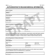 Sample Medical Records Release Form Sample Medical Records Release Form Mobile Discoveries