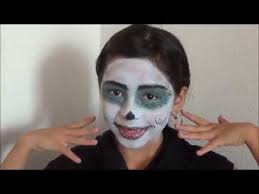 skelita calaveras monster high doll makeup and outfit tutorial 2016