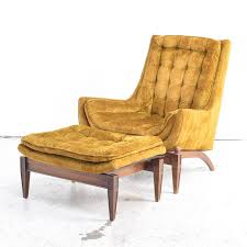 mid century club chair. Brilliant Mid Mid Century Modern Club Chair With Ottoman By Sam Moore  Intended A