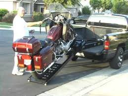 Rampage power Lift Motorcycle loader Great for any motorcycle in and ...