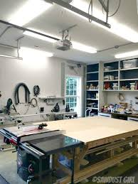 workbench lighting ideas. led shop lights one thing i absolutely had to change about my workshop was the lighting this single florescent fixture only light in entire workbench ideas