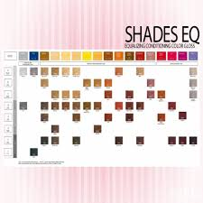 Shades Eq Gloss Chart Image For Redken Shades Eq Gloss Color Chart Hair In 2019