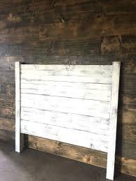 white wood headboard headboard distressed white by on ana white reclaimed wood headboard full