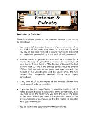 Footnotes And Endnotes A Level Worksheet History Resources