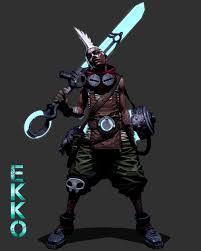 Ekko Designs Artstation Ekko Fan Art Seung Eun Kim Character Design