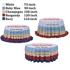 soardream sequin tablecloth champagne blush 50 inch round elegant table overlay kitchen dining vgphh3vma