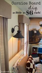 Diy Wood Cornice Best 25 Cornice Boards Ideas On Pinterest Wooden Valance