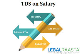 Pay Deduction Calculator Tds On Salary Deductions Calculation Example Legalraasta