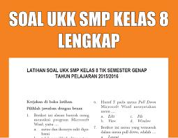 Pdf drive investigated dozens of problems and listed the biggest global issues facing the world today. Kumpulan Soal Ukk Smp Mts Kelas 8 Semester Genap Lengkap