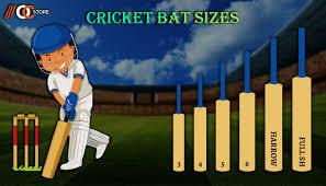 Cricket Bat Size Chart Buyers Guide Online Cric Store