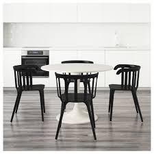 white chairs ikea ikea ps 2012 easy. IKEA DOCKSTA/IKEA PS 2012 Table And 4 Chairs You Sit Comfortably Thanks To The White Ikea Ps Easy