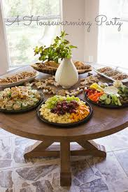 Housewarming party ideas. These ideas would work well for so many kinds of  gatherings,