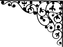 Illustration of a lower left frame corner : Free Stock Photo ?