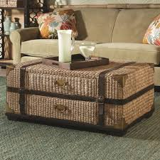 Seagrass Living Room Furniture Hammary Boracay Trunk Cocktail Table With Storage Wayside
