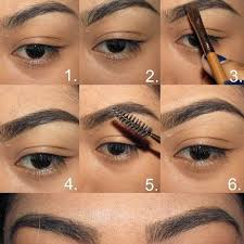 learn to fill your eyebrows in a perfect way that is going to make them look
