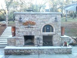 outdoor fireplace with pizza oven the family wood fired brick in diy uk outdoor fireplace with pizza oven the family wood fired brick in diy uk