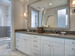 white bathroom cabinets with granite. Great Gray Granite Countertops White Bathroom Cabinets With H