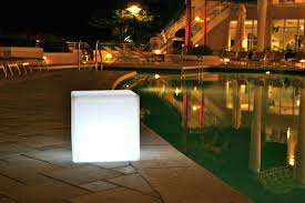unique outdoor lighting ideas. This Cute Outdoor Lamp Has A Unique Visual Appeal. The Light Cube Casts  In Lighting Ideas I