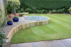 garden landscape design. Interesting Garden Garden Fresh Landscape Design Ideas Logs Border Gravels For  Landscaping Beautiful In The Intended N