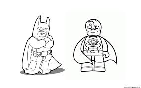 Small Picture Batman With Superman Coloring Pages Free Printable Throughout Lego