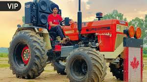full modified tractors stunts big