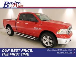 Heflin Flame Red Clearcoat 2014 Ram 1500: Used Truck for Sale - 26998A