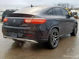 Mercedes gle coupé 53 amg vs bmw x6 m50i vs audi sq8 vs porsche cayenne turbo coupé comparison suv. Mercedes Benz Gle Coupe 43 Amg 2018 Black 3 0l 6 Vin 4jged6eb3ja101628 Free Car History