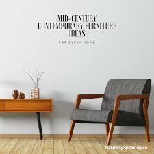 contemporary furniture ideas. Mid-Century Contemporary Furniture Ideas For Every Home - Basically Speaking O