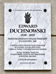 File:Tablica Edward Duchnowski ul. Narbutta 53.jpg - Wikimedia Commons
