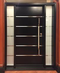 modern front doorsSimple Model Walnut Meranti Wood Exterior Door Home Luxury To