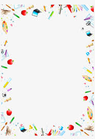 Stationery Vector Free Download Art Supplies Free Border