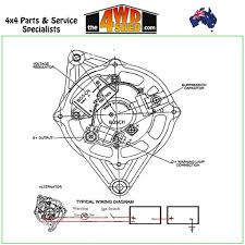 Alternator 24v 55 bosch type universal car connection diagram ap