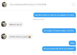 the best tinder pick up lines using