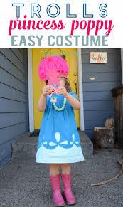 diy princess poppy dress homemade costume