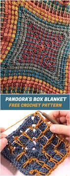 Crochet Box Stitch Pattern Cool Design Ideas