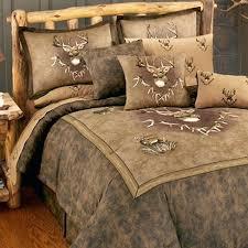 rustic comforter sets more views whitetail ridge set twin california king canada