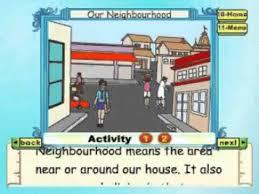 Learn Evs Class 2 Our Neighbourhood Animation
