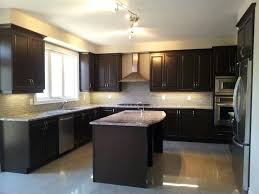 Models Contemporary Kitchens With Dark Cabinets Best Kitchen Solash Images On Pinterest Backsplash And Intended Perfect Ideas