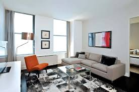 apartment furniture nyc. modern rental apartment living room seating furniture design 25 broad financial district nyc nyc l