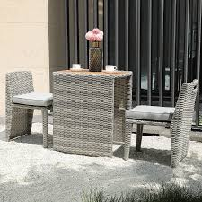 soleil jardin 3 piece patio bistro set