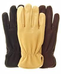 nordic fleece lined deerskin gloves