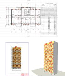 Курсовой проект по архитектуре Жилой этажный дом г Брянск  Курсовой проект по архитектуре Жилой 17 этажный дом г Брянск